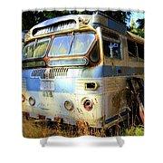 Transit Bus2 Shower Curtain