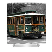 Transportation. Charlottesville Va Shower Curtain