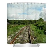 Traveling Towards One's Dream Shower Curtain