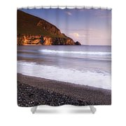 Trawmore Bay, Achill Island, County Shower Curtain