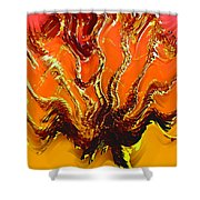 Tree Of Fragility Shower Curtain