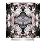 Tree Of Life Love And Death Shower Curtain