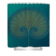 Tree Of Well-being Shower Curtain