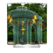 Trellis At Schloss Sanssouci Shower Curtain