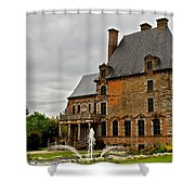 Tres Francais Shower Curtain