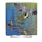 Tri On The Hunt Shower Curtain