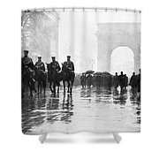 Triangle Fire Memorial, 1911 Shower Curtain