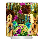 Tribal Color Shower Curtain