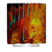 Tribal Tribute Shower Curtain