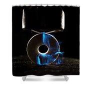 Triboluminescence Shower Curtain