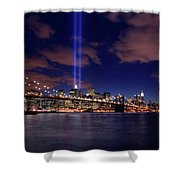 Tribute In Light II Shower Curtain