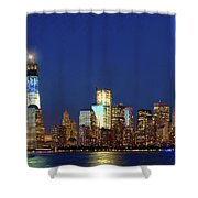 Tribute Of Lights Nyc 2012 Shower Curtain