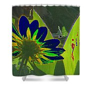 Tricked Leaf Shower Curtain