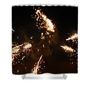 Trigger Dragon Shower Curtain