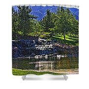 Trilogy Falls Shower Curtain