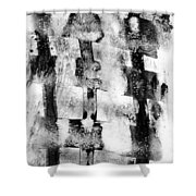 Trinity Shower Curtain by Hakon Soreide