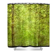 Triptico Pinares Shower Curtain