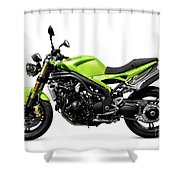 Triumph Speed Triple Motorcycle Shower Curtain