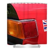 Triumph Tr6 Tail Light Shower Curtain