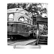 Trolley Car Diner - Philadelphia Shower Curtain
