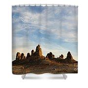 Trona Pinnacles 3 Shower Curtain