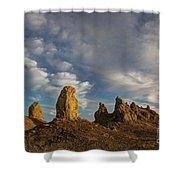 Trona Pinnacles 4 Shower Curtain