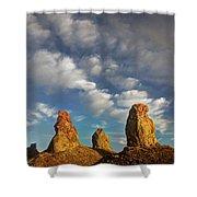 Trona Pinnacles 5 Shower Curtain