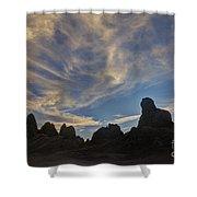 Trona Pinnacles 6 Shower Curtain