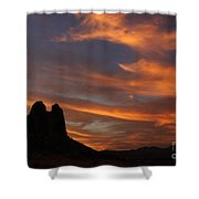 Trona Pinnacles 7 Shower Curtain