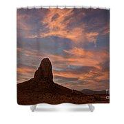 Trona Pinnacles 8 Shower Curtain