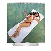 Tropical Comfort Shower Curtain
