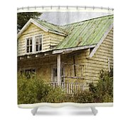 Tropical Cottage Shower Curtain