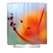 Tropical Delight. Natural Watercolor Shower Curtain