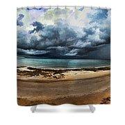 Tropical Seasonal Monsoon Rain V3 Shower Curtain