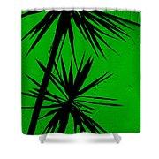 Tropical Splash Shower Curtain