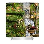 Tropical Waterfall  Shower Curtain