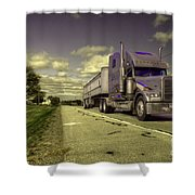 Truck On  Shower Curtain