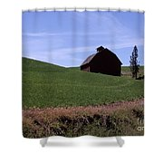 True Country Barn Shower Curtain
