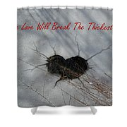 True Love Will Break The Thickest Ice Shower Curtain