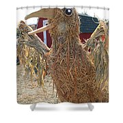 Truly A Scarecrow Shower Curtain
