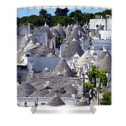 Truly Whimsical Trulli Shower Curtain