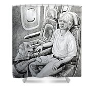 Trusted Companion Shower Curtain