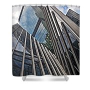 Trylon Towers Shower Curtain