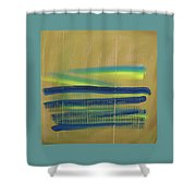 Tsunami II Shower Curtain