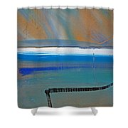 Tsunami Wave Shower Curtain