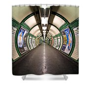 Tube Tunnel Shower Curtain