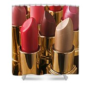 Tubes Of Lipstick Shower Curtain