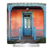 Tucson Front Porch Shower Curtain