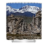Tufa At Mono Lake California Shower Curtain