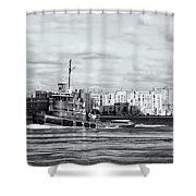 Tugboat Turecamo Girls II Shower Curtain
